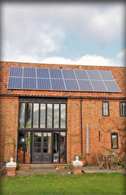 Generate free electricity for your home with solar panels